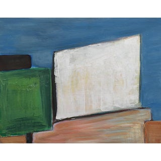 Vintage Modern Art Abstract Painting