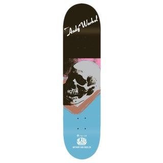 Andy Warhol Skull Skate Deck