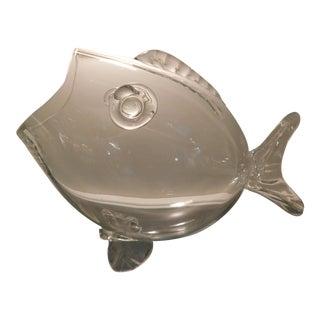 Hand Blown Blenko Glass Fish