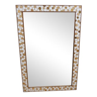 Hohenberg Mosaic Tile Mixed Media Dresser Wall Mirror
