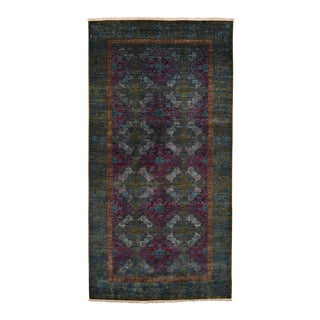 """Suzani Hand Knotted Area Rug - 5'2"""" X 10'1"""""""