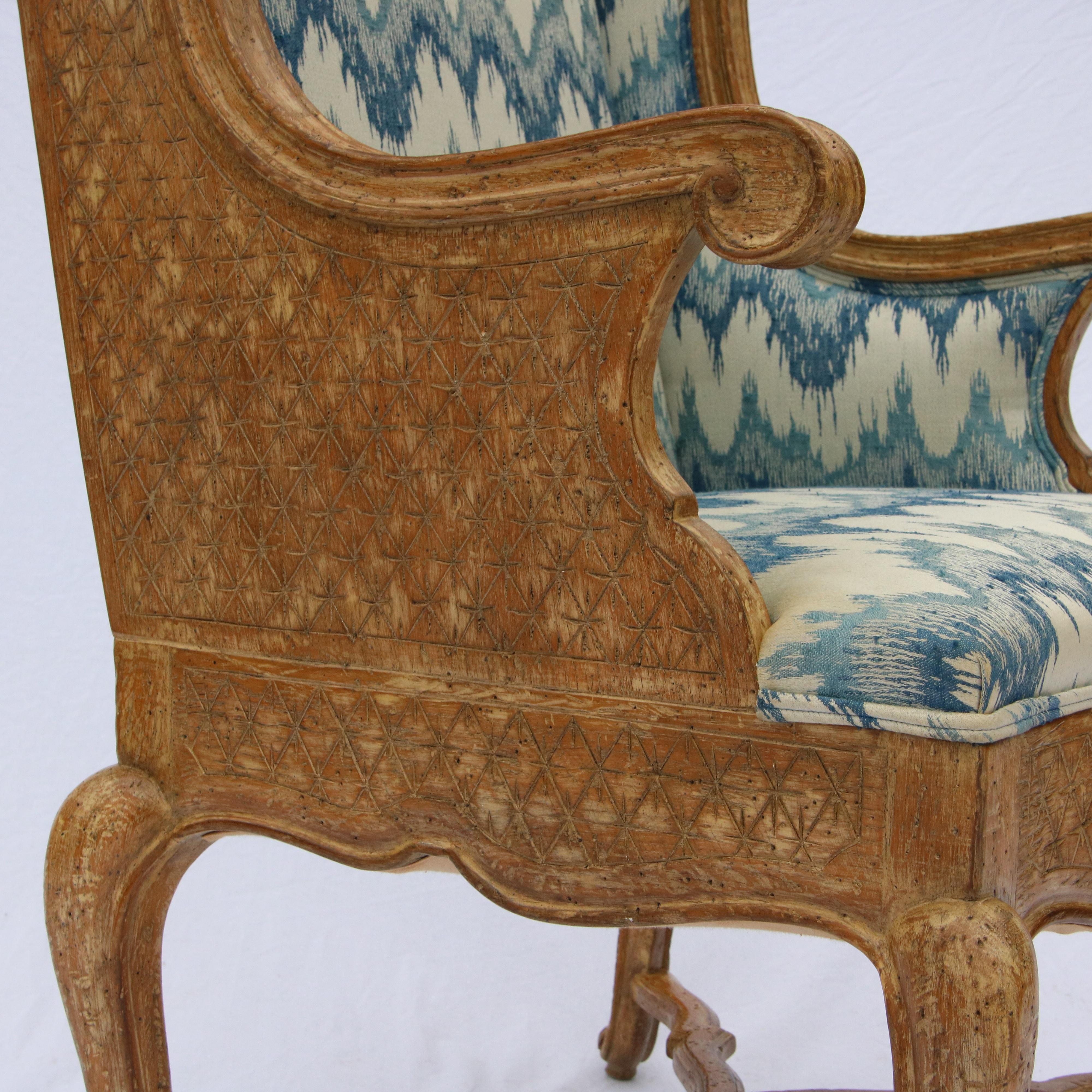 Robert Richter Wingback Chair Chairish
