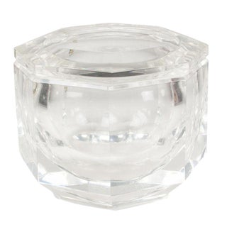 Lucite Ice Bucket by Carole Stupell