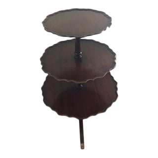 3-Tiered Ferguson Brothers Pie Crust Dumb Waiter