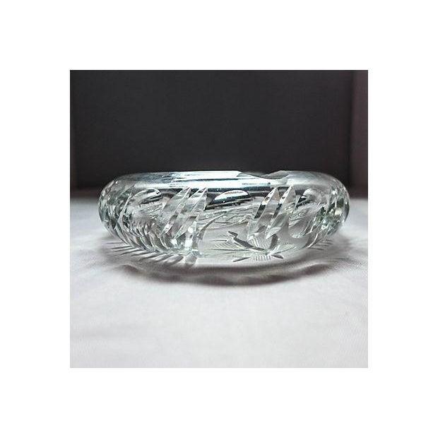 Cut Crystal Ashtray - Image 2 of 5