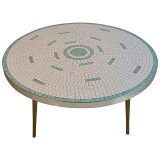 Mid Century Modern Hohenberg Tile Cocktail Table