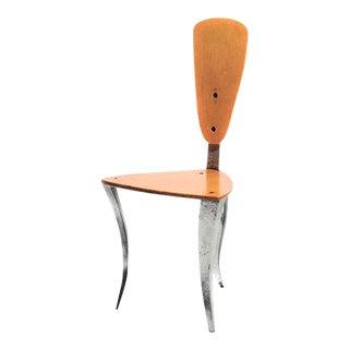 California Studio Plywood & Metal Chair