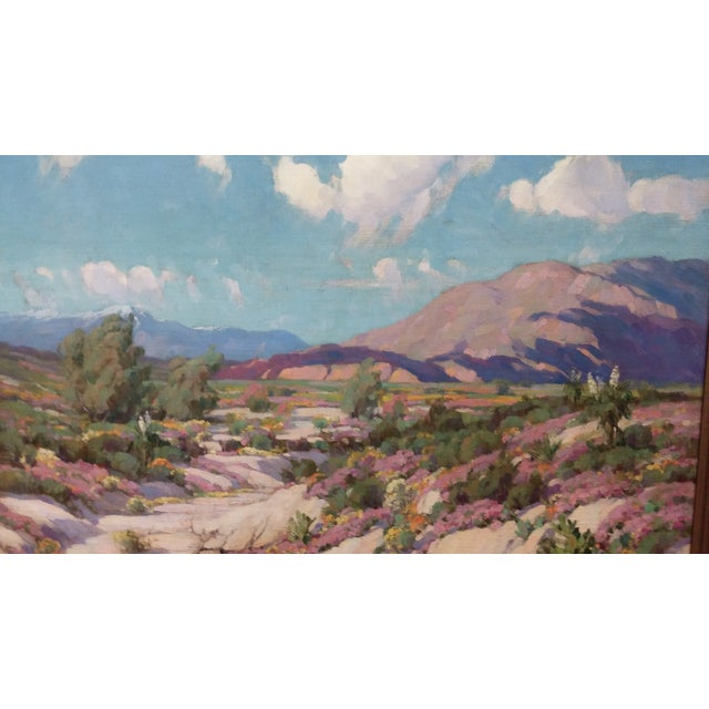 """California Desert"" Oil Painting by George Melcher - Image 2 of 9"
