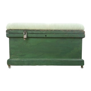 Vintage Tool Chest Storage Bench