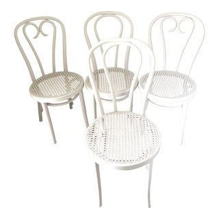 Bentwood Cafe Chairs - Set of 4