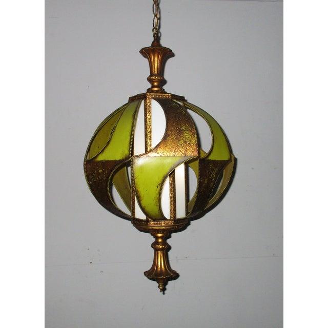 Vintage Classic 1960's Decorative Light Fixture - Image 6 of 6