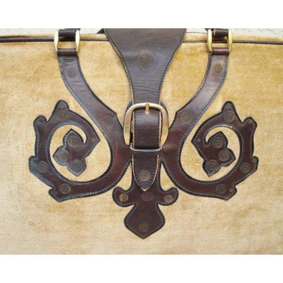 Saks Fifth Avenue Vintage Italian Suitcases - Pair - Image 3 of 6