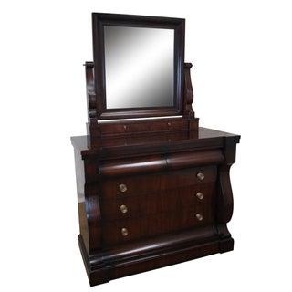 Ralph Lauren Empire Style Mahogany Dresser