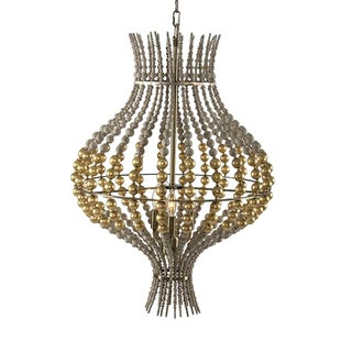 Aidan Gray Grand Onion Gold Chandelier