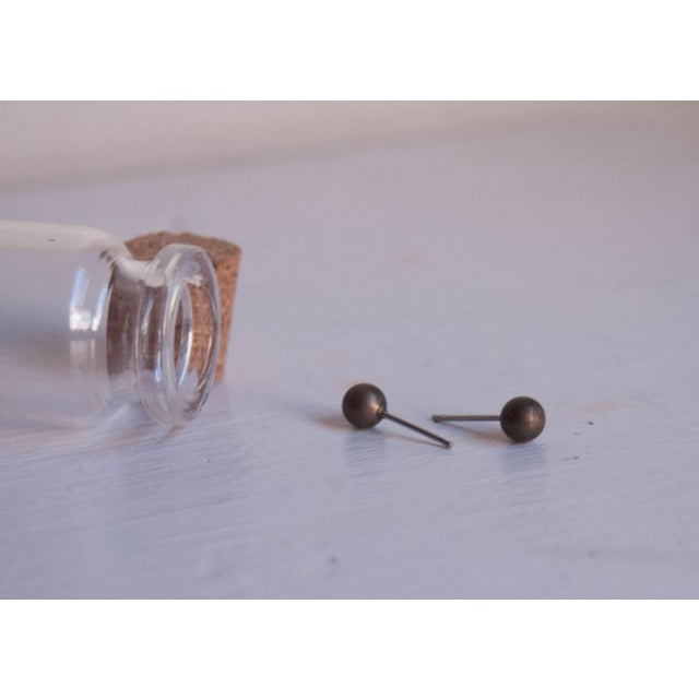 Image of Geometric Brass Earring Collection