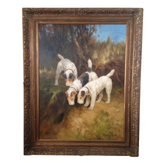 Jim Huff Terrier Painting