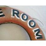 Image of 1960s Nautical Yacht Marine Room Life Preserver