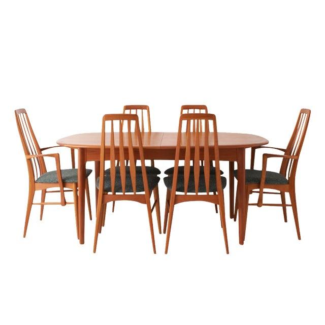 Koefoeds Hornslet Modern Teak Dining Set - Image 1 of 11