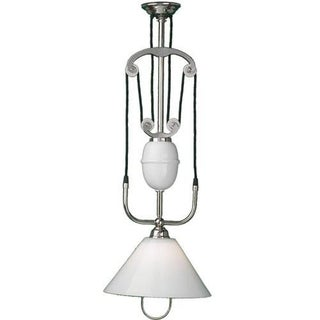 Industrial Pulley Pendant Light Fixture