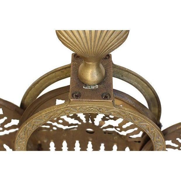 Brass Fan Fireplace Screen - Image 6 of 6