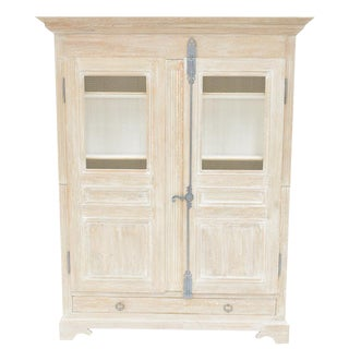 Sarreid Ltd. Shabby Chic Reclaimed White Pine Armoire