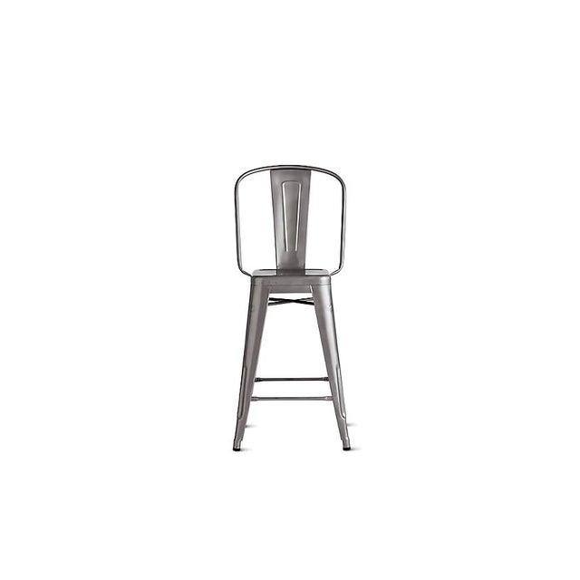 Tolix marais counter stool chairish - Tolix counter stools ...
