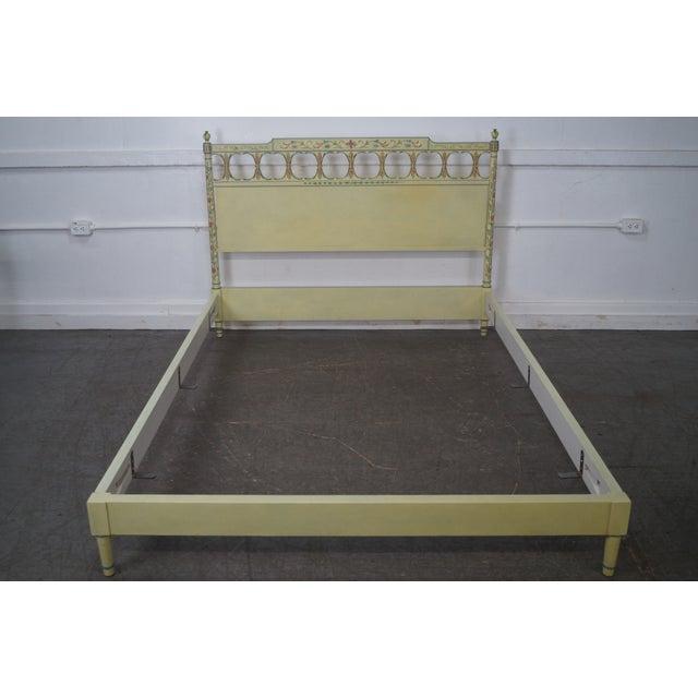 Widdicomb Mid-Century Venetian Style Queen Bed - Image 2 of 10