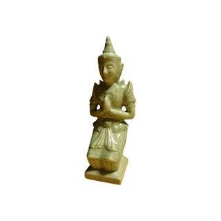 Celadon Thai Kneeling Buddha