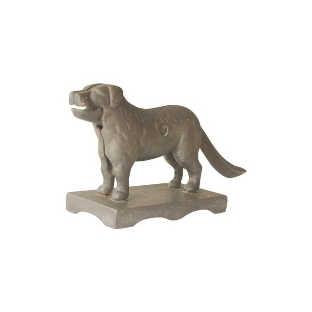 Vintage Cast Iron Dog Nuckcracker - Image 1 of 4