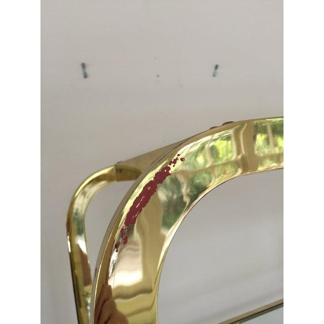 Image of Milo Baughman Dia Brass and Glass Etegere