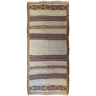 Vintage Moroccan Flatwoven Rug