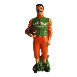 Vintage Bourbon Advertising Statuette