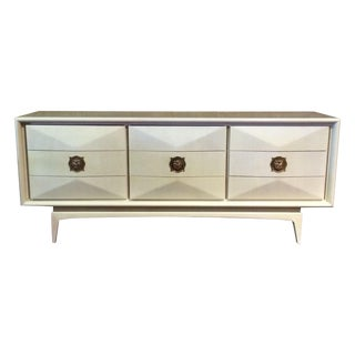 Diamond Sculpted Front Dresser or Credneza