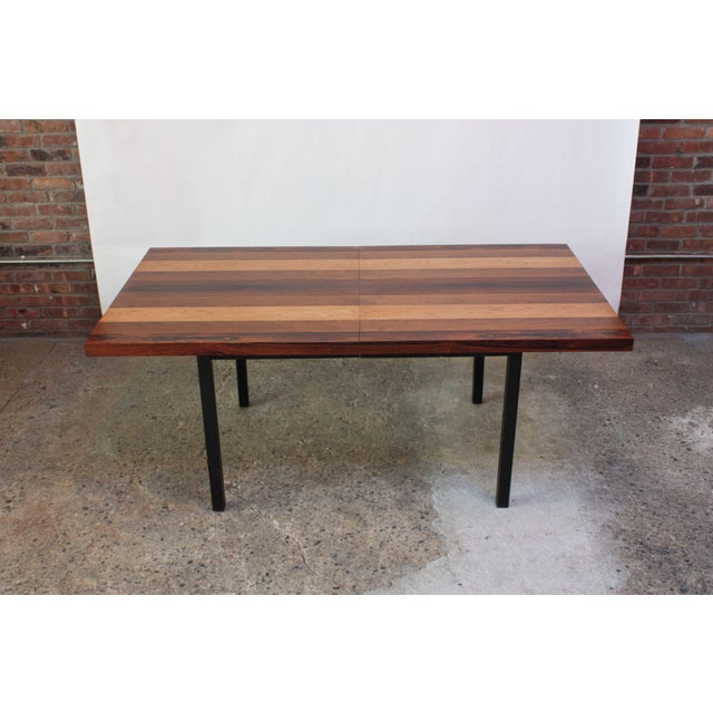 Directional Mixed-Wood Dining Table by Milo Baughman - Image 6 of 11