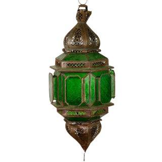 Moroccan Emerald Green Lantern