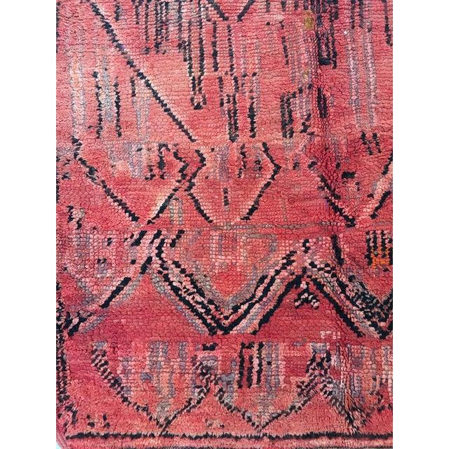 Azilal Tribal Design Moroccan Rug - 4'7'' x 6'6'' - Image 3 of 4