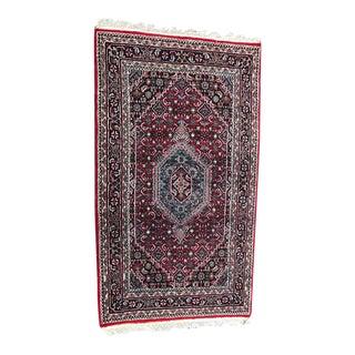 Bidjar Area Rectangle Persian Rug - 4'x6'