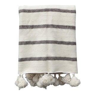 Rag & Bone Moroccan Pom Pom Blanket