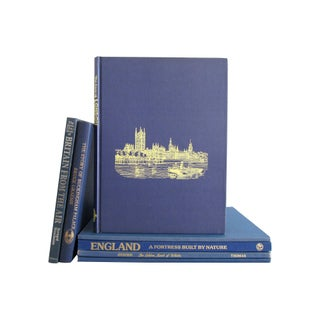 Blue Books of Britain Collection - Set of 7