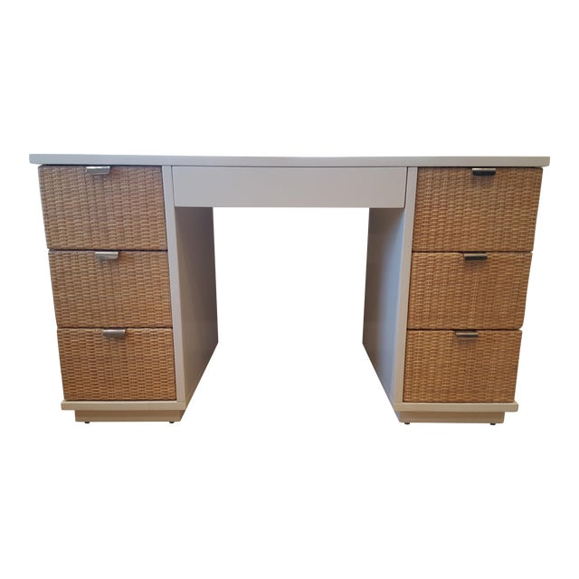 Bungalow 5 White Cosmopolitan Desk Chairish