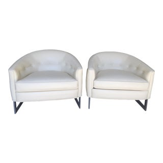 Milo Baughman Tub Chairs - A Pair
