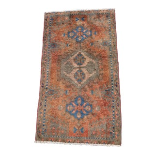 """Vintage Persian Veese Welcome Mat - 1'10"""" x 3'4"""""""