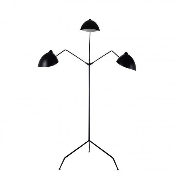 Stilnovo Holstebro Modern Black Floor Lamp - Image 1 of 4