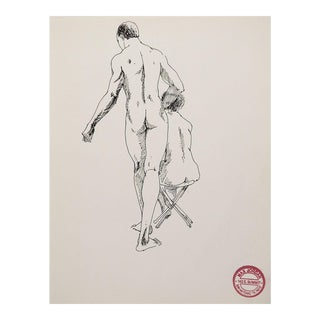 Nude Study of Man & Woman