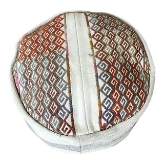 Embroidered Turkish Boho Pouf