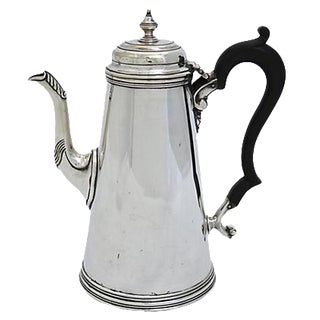 Antique English Silver-Plate Coffeepot