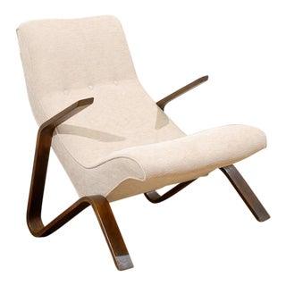 Beautiful Early Grasshopper Chair by Eero Saarien for Knoll