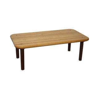Knoll Morrison Hannah Maple Top Coffee Table