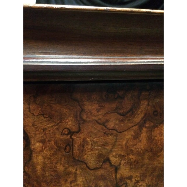 Italian Cabriolet European Walnut Side Table - Image 3 of 8