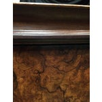 Image of Italian Cabriolet European Walnut Side Table